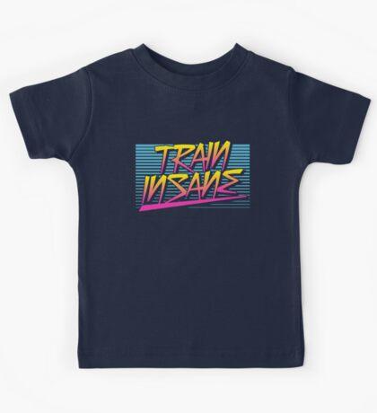 Train Insane Retro Kids Tee
