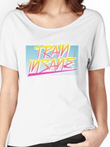 Train Insane Retro Women's Relaxed Fit T-Shirt
