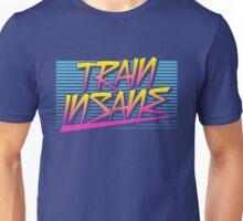 Train Insane Retro Unisex T-Shirt
