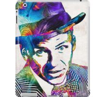 Frank Sinatra Art - Old Blue Eyes - By Sharon Cummings iPad Case/Skin