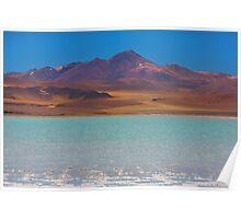 Atacama Salt Lake Poster