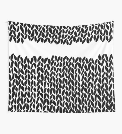 Missing Knit Wall Tapestry