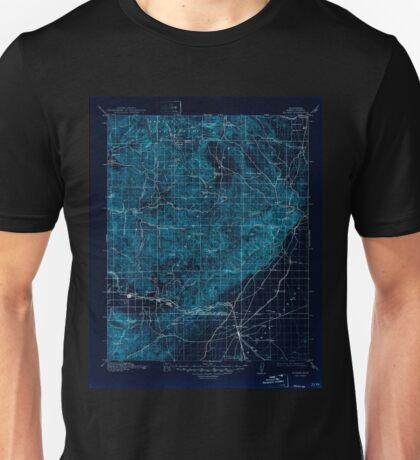 USGS TOPO Map California CA Mojave 299468 1915 125000 geo Inverted Unisex T-Shirt