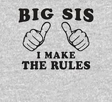 Big Sis, I Make The Rule - Sisters Shirt, Big Sister, Thumbs Womens Fitted T-Shirt