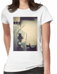 Fine Tuning. Womens Fitted T-Shirt