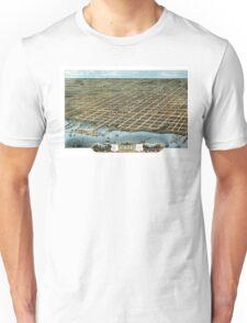 Erie - Pennsylvania - 1870 Unisex T-Shirt