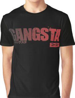 Gangsta Gradien RED Graphic T-Shirt