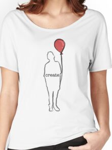 create. Women's Relaxed Fit T-Shirt