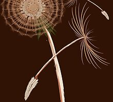 Dandelions-The First Three Seeds by Lotacats