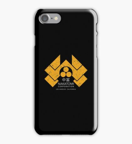 Nakatomi Plaza - HD Japanese Variant iPhone Case/Skin