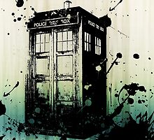 TARDIS Graffiti by Darth-Sarah