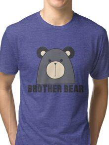 Brother Bear Cute Animal Tee Shirt Tri-blend T-Shirt