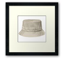 Bucket Hat Framed Print