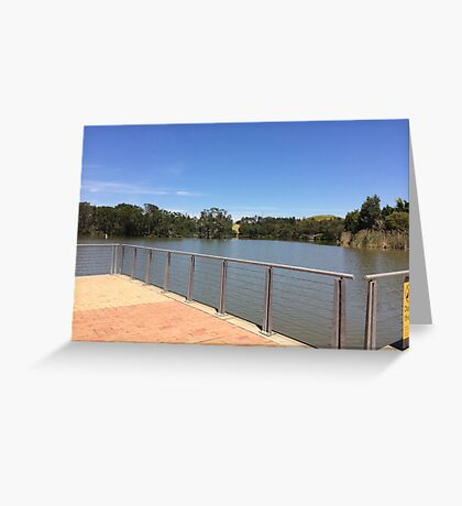 Summer day in Australia  Greeting Card