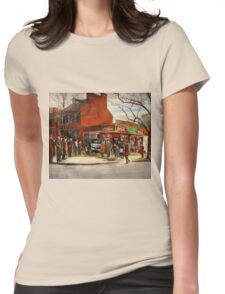 Car - Accident - Looking out for number one 1921 Womens Fitted T-Shirt
