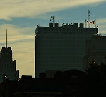 Downtown Winston-Salem by paulboggs