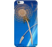Dandelions-The First Three Seeds iPhone Case/Skin