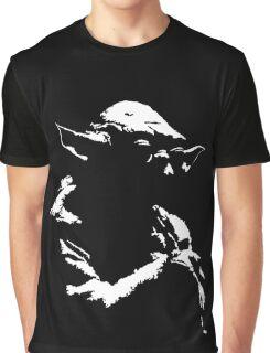 Star Wars Yoda Minimal  Graphic T-Shirt