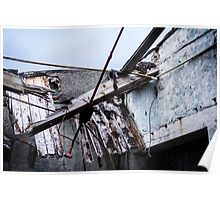 Mill Factory - Collapsed Roof  Poster