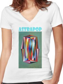 Astrapop 1B. Women's Fitted V-Neck T-Shirt