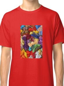 Colorful cotton craft threads Classic T-Shirt