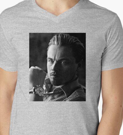 Leonardo DiCaprio Mens V-Neck T-Shirt
