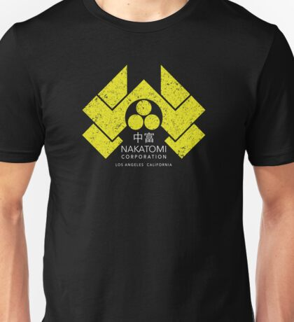 Nakatomi Plaza - HD Japanese Yellow Variant Unisex T-Shirt