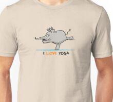 i love yoga Unisex T-Shirt