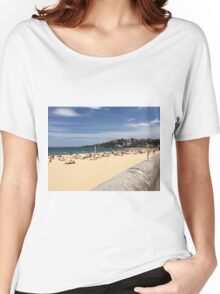 Coogee Beach, Sydney, NSW, Australia  Women's Relaxed Fit T-Shirt