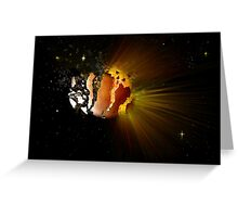 Eclipse of the Heart Greeting Card