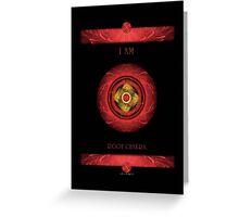 Root Chakra - by Sacred Healing Chakras Greeting Card