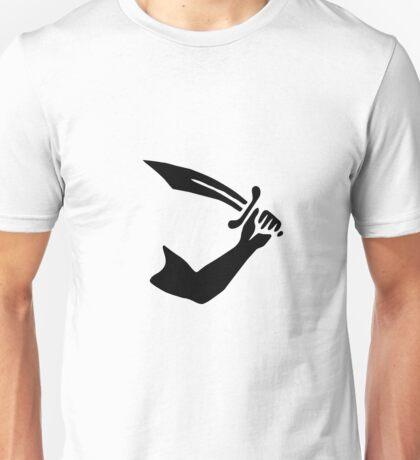 Pirate Flag of Thomas Tew Sword Unisex T-Shirt