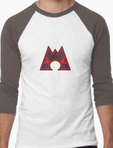 Pokemon - Team Magma Logo Men's Baseball ¾ T-Shirt