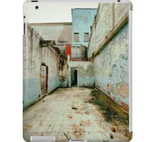 Abandoned Building with Red Bricks iPad Case/Skin