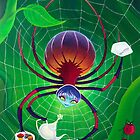 Spider Snack (Phone & Tablet Cases) by Wil Zender