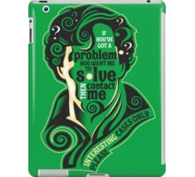 Interesting Cases iPad Case/Skin