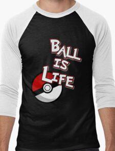 Poke-Ball is Life Men's Baseball ¾ T-Shirt
