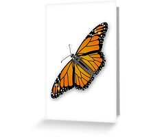 A colorful monarch butterfly Greeting Card