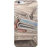 Chevy Bonneville drawing iPhone Case/Skin