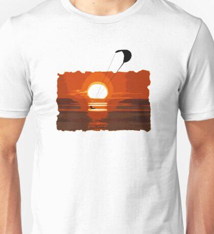 Kite Surfing Unisex T-Shirt