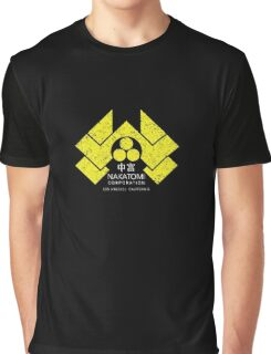 Nakatomi Plaza - HD Japanese Yellow Variant Graphic T-Shirt