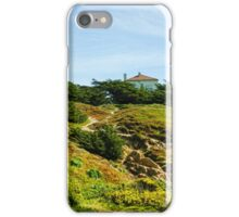 San Francisco Colorful Spring - Hilltop House With a View iPhone Case/Skin