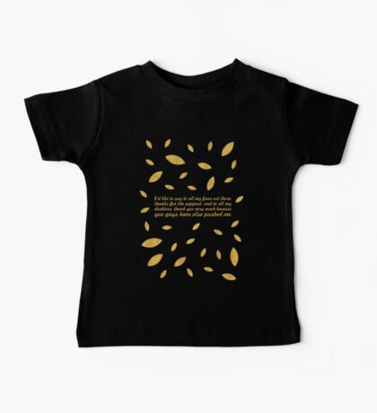 "I'd like to say... ""Usain Bolt"" Inspirational Quote (Creative) Baby Tee"