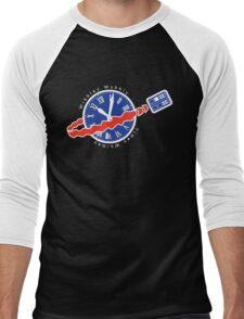 TARDIS Space! Men's Baseball ¾ T-Shirt