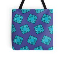 condom pattern Tote Bag