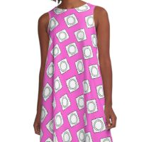 condom doodle pattern A-Line Dress