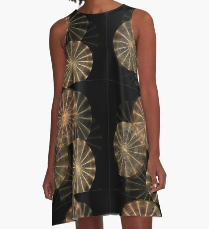 Wheels of Time A-Line Dress