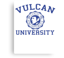 Vulcan University Canvas Print