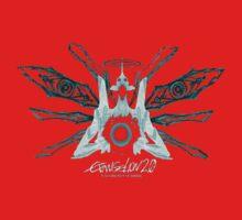 Evangelion 2.0 - EVA UNIT 01 Angel Logo Kids Clothes