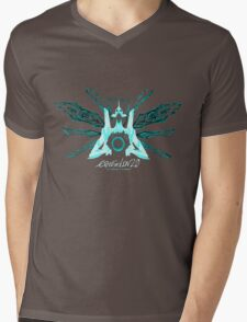 Evangelion 2.0 - EVA UNIT 01 Angel Logo Mens V-Neck T-Shirt